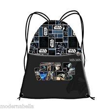 Star Wars Sacco sacchetto zaino,borsa scuola,palestra,temop libero sport