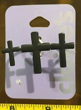 Claires Claire's Medium Ring cross Triple Double Finger Jewellery RRP £4