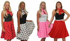 Rockabilly 100% Cotton Vintage Skirts for Women