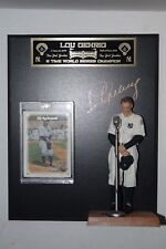 McFarlane Lou Gehrig Cooperston Series 7 New York Yankees  Plaque Card