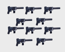 NEW LEGO Tommy Gun black x 10 Weapon gun Super Heroes Indiana Thompson