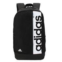 Adidas Linear Backpack Bag Training Rucksack Gym Sports School Black