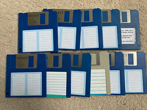 "11x 3.5"" Floppy Disks"