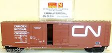 CANADIAN NATIONAL 50 BOX CAR PLUG SLIDING PORTA mtl 076 00 010 N 1:160 conf.
