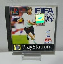 PS1 / Sony PLAYSTATION 1 - Fifa 98: the World Cup Qualification Boxed + Guide