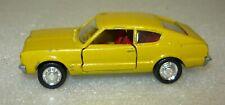 Schuco Modell 301837, Ford Taunus GT Coupé, gelb, 1/66, gebraucht&OVP