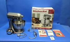 KitchenAid Model Ksm95Cu 4.5 quart Tilt Head Stand Mixer Contour Silver
