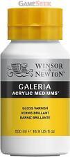 WINSOR AND NEWTON GALERIA 500ML GLOSS ACRYLIC VARNISH
