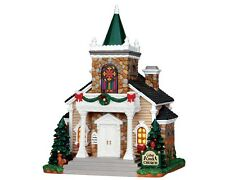 LEMAX CHRISTMAS VILLAGE - CEDAR CREEK CHURCH (BATTERY OPERATED)