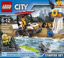 LEGO City Coast Guard Starter Set 60163 Building Kit (76 Piece)   5 Pack bundle
