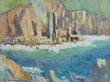 Elizabeth Lamorna Kerr, nee Birch (1904-1990) Cliffs on the Cornish Coast