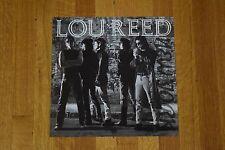 Lou Reed Rare 2-Sided Record Store Promo Album Flat Poster Velvet Underground
