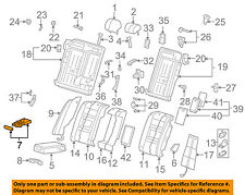 AUDI OEM 02-08 A4 Quattro Rear Seat-Cup Holder 8E0885995C4PK
