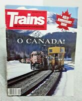 Trains Magazine Of Railroading November 1985 Canada vtg 45th Anniv Issue