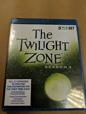 The Twilight Zone - Series 3 (Blu-ray, 2011, 5-Disc Set)