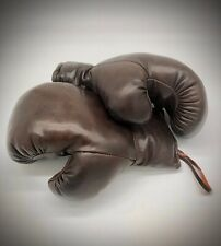 Boxing Gloves leather gift Vintage Retro Sports Collectable Memorabilia repro