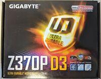 GIGABYTE Z370P D3 Intel LGA1151 Z370 ATX M.2 #EB9896-97