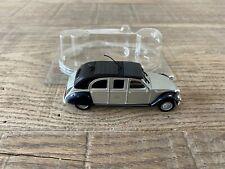 Norev 1/43 Citroën 2CV limousine silver Les Citroëns 2CV n°49