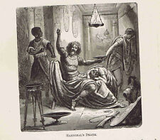 Hannibal's Death by Suicide in Gebze Turkey  -1882 Page of History