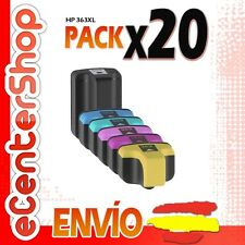 20 Cartuchos de Tinta NON-OEM HP 363XL - Photosmart C7100 Series