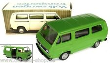 VW Bus T3 - Conrad Modell 1:43 - Kombi - luftgekühlt - Grün - NEU & OVP