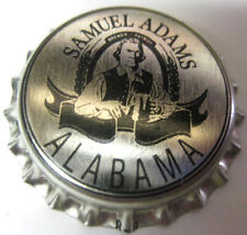SAMUEL ADAMS ALABAMA Beer CROWN unused Bottle Cap Boston, MASSACHUSETTS, Man