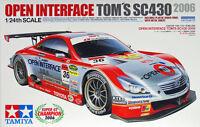 Tamiya 24293 OPEN INTERFACE TOM'S SC430 2006 1/24 scale kit