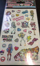 4 Sheets Monster High  Stickers Party Favors Teacher Supply