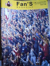 FAN'S MAGAZINE ULTRAS 80 2004 Catanzaro Juventus Livorn