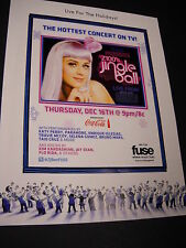 KATY PERRY Jingle Ball Madison Square Garden PROMO AD