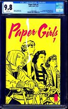 Paper Girls #1 CGC 9.8 AMAZON PRIME SERIES SOON Brian K Vaughn NM/MT IMAGE