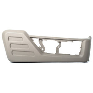 2008-2010 Ford F250 F350 Super Duty Front Passenger Seat Side Panel Gray OEM