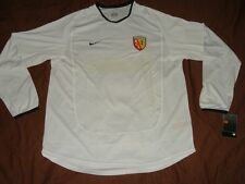 Lens Soccer Jersey Player Issue Top Nike Code 7 Football Shirt White NEW