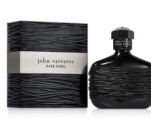 John Varvatos Dark Rebel Eau De Toilette Spray 2.5 Fl Oz Sealed 100% Authentic