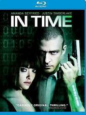 NEW GENUINE  FOX USA BLU RAY JUSTIN TIMBERLAKE IN TIME FREE FAST 1ST CLS S&H