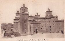 FERRARA - Lato Sud del Castello Estense - DIENA Industrie Artistiche Riunite