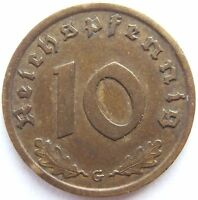 Top! 10 Pfennig 1937 G IN Very fine / Extremely fine