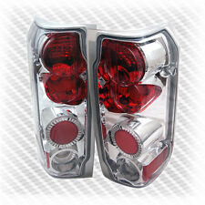 For 1989-1996 Ford F150/F250/Bronco Tail Lights Rear Brake Lamps Pair Set Light