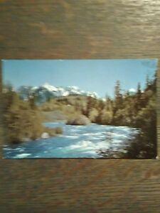 VINTAGE PHOTO POST CARD SKYHOMISH RIVER  SKYHOMISH WASHINGTON