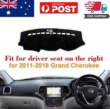 RHD Dash Mat Dash Cover Dashboard No Slips For Jeep Grand Cherokee 2011-2018