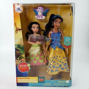 """Disney Store ELENA AVALOR Singing Feature Deluxe Doll Set """"Got It Down"""" NEW"""