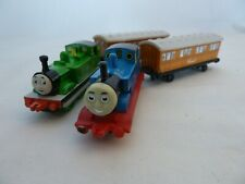 ERTL Thomas and Percy metal trains with carriages Clarabelle and Annie