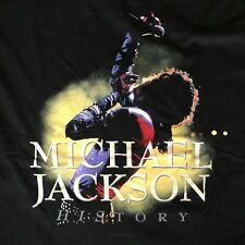 """RARE VINTAGE HISTORY TOUR T-SHIRT 1996 - MINT! - """"LIVE""""  MICHAEL JACKSON"""