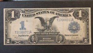 1899 Silver Certificate Black Eagle