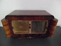 Rare Vintage Ancien Poste Radio TSF Siare Credo