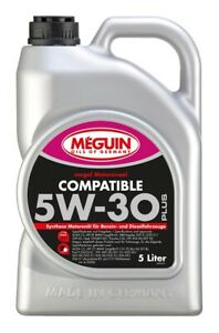 6,01€/l Meguin Megol Motorenöl Compatible SAE 5W-30 Plus 5 Ltr
