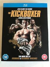 The KICKBOXER COLLECTION (1989 & 2016)  BLU RAY 2 DISC SET JEAN CLAUDE VAN DAMME