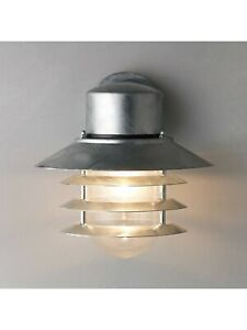 Nordlux 74461031 Vejers Down Outdoor Wall Light Galvanised Steel