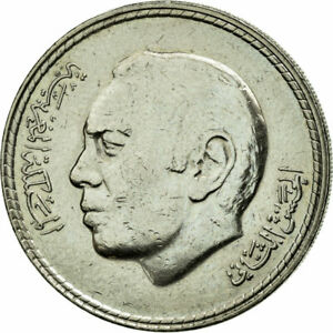 [#78611] Coin, Morocco, al-Hassan II, 5 Dirhams, 1980, AU(50-53), Copper-nickel