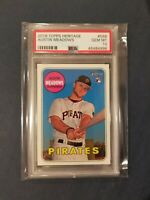 2018 Topps Heritage #568 AUSTIN MEADOWS RC Pirates Rookie PSA 10 Gem Mint